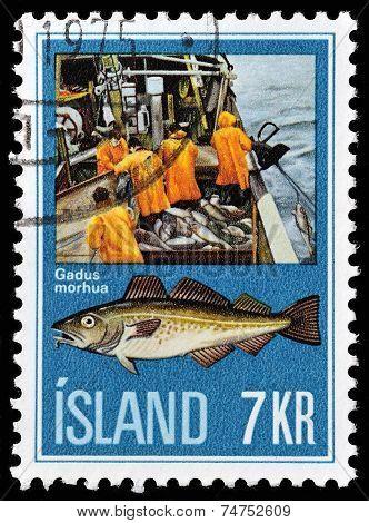 Island stamp