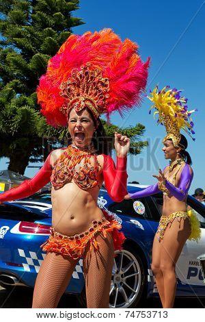 Sexy Brazilian dancers