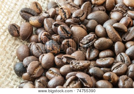 Macro Of Coffee