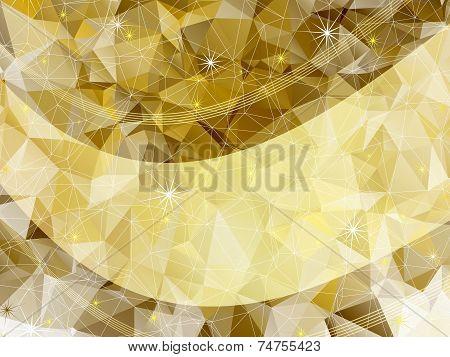 Holiday Golden Frame