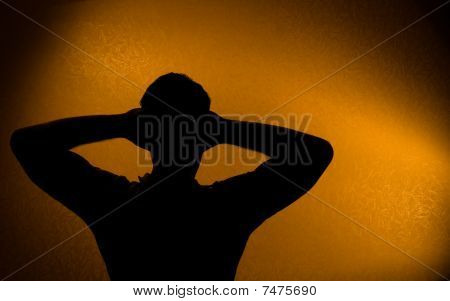 Rest And Relax - Silhouette Of Man