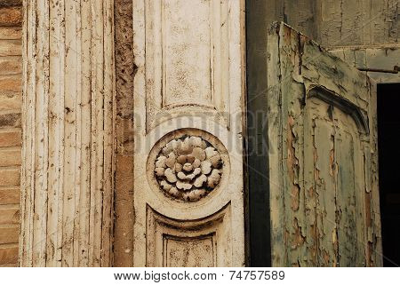 Old Church Door In Murano 2