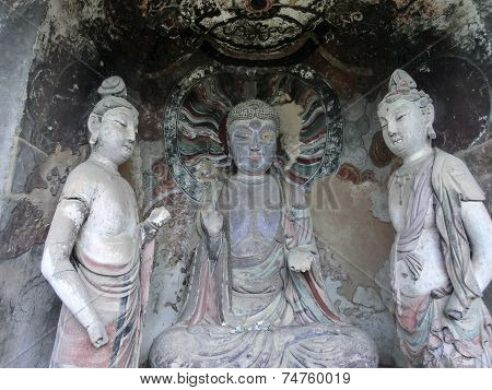 Buddha and his guards