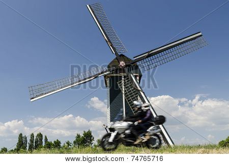 Mill At Batenburg