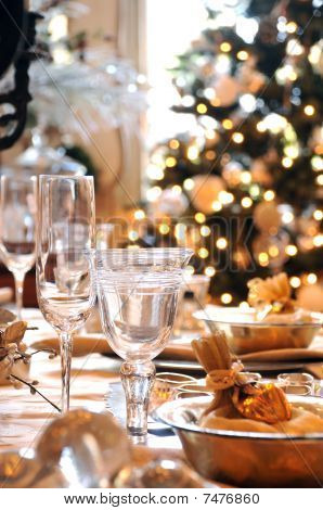 Christmas Dining Table