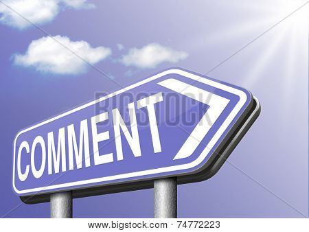 Write comment or testimonial customer or user product review or feedback on satisfaction