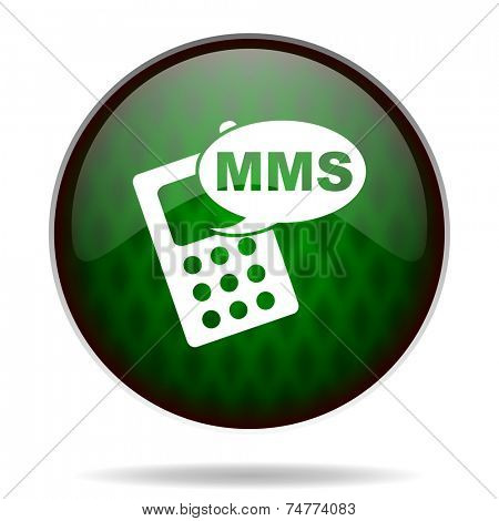 mms green internet icon