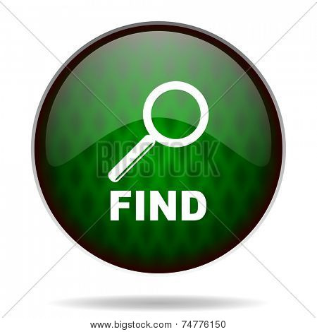 find green internet icon