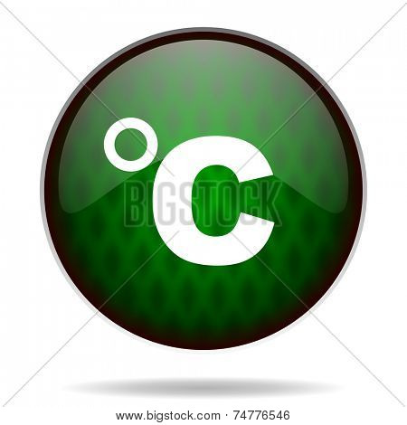 celsius green internet icon