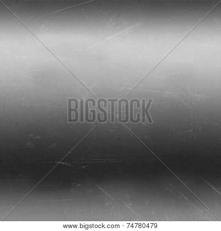 Metallic background with a scratched texture