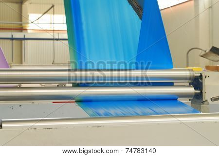 Blue Polythene Tape