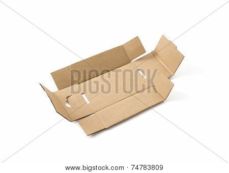 Unfolded Cardboard Box
