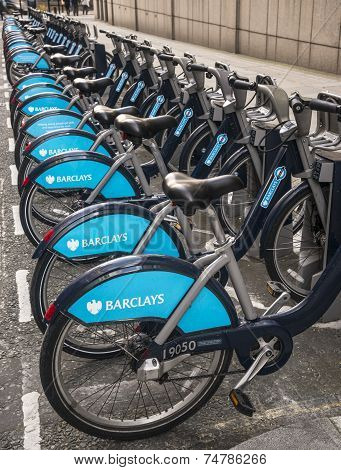 Hire Bicycles In Central London