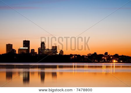 Dawn Over Minneapolis