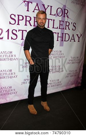 LOS ANGELES - OCT 25:  Joey Lawrence at the Taylor Spreitler's 21st Birthday Party at the CBS Radford Studios on October 25, 2014 in Studio City, CA