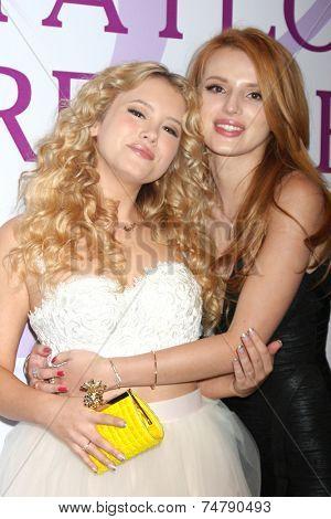 LOS ANGELES - OCT 25:  Bella Thorne, Taylor Spreitler at the Taylor Spreitler's 21st Birthday Party at the CBS Radford Studios on October 25, 2014 in Studio City, CA