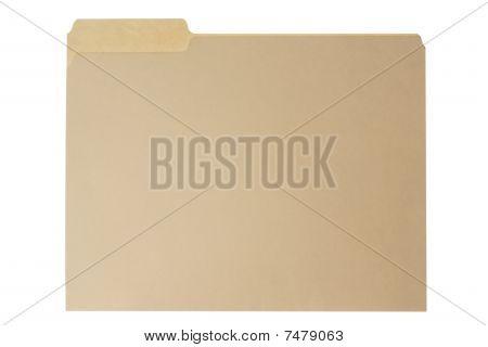 Manilla File Folder