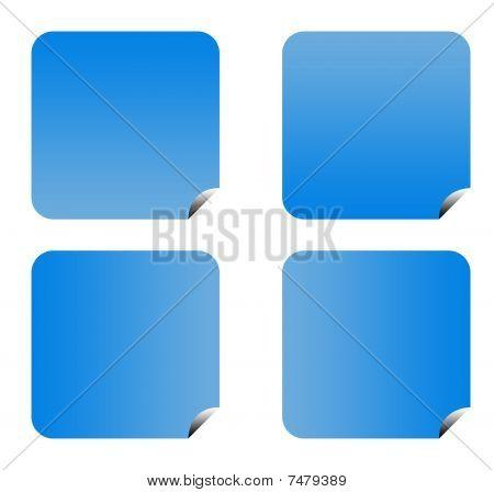 Blue Gradient Buttons