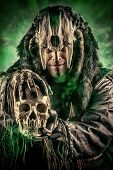 image of shaman  - Ancient shaman warrior - JPG