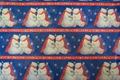 Christmas Bear Background poster