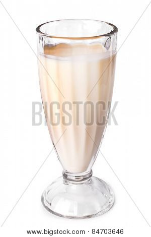 Delicious milkshake on the table