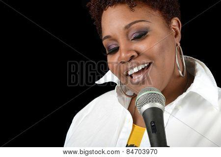 Nice Image of a Jazz singer