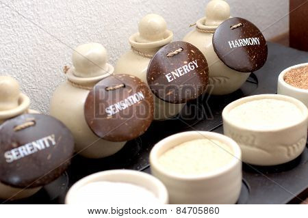 Earthenware And Flavors In The Spa