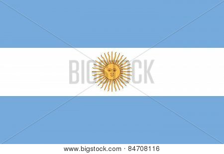 The Argentina Flag