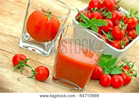 Tomato juice - squeezed tomato