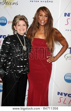 LOS ANGELES - FEB 22:  Gloria Allred, Beverly Johnson at the Night of 100 Stars Oscar Viewing Party at the Beverly Hilton Hotel on February 22, 2015 in Beverly Hills, CA
