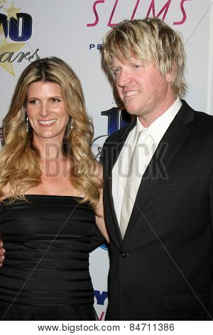 LOS ANGELES - FEB 22:  Jake Busey at the Night of 100 Stars Oscar Viewing Party at the Beverly Hilton Hotel on February 22, 2015 in Beverly Hills, CA