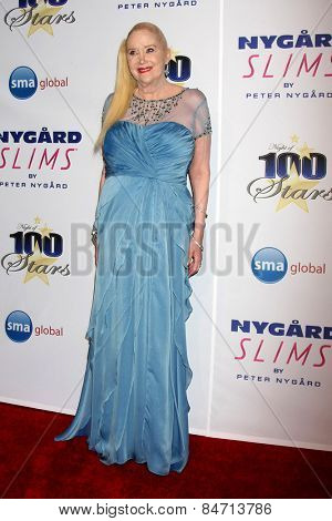 LOS ANGELES - FEB 22:  Sally Kirkland at the Night of 100 Stars Oscar Viewing Party at the Beverly Hilton Hotel on February 22, 2015 in Beverly Hills, CA