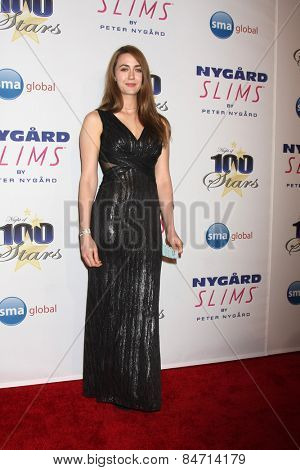 LOS ANGELES - FEB 22:  Madeline Zima at the Night of 100 Stars Oscar Viewing Party at the Beverly Hilton Hotel on February 22, 2015 in Beverly Hills, CA