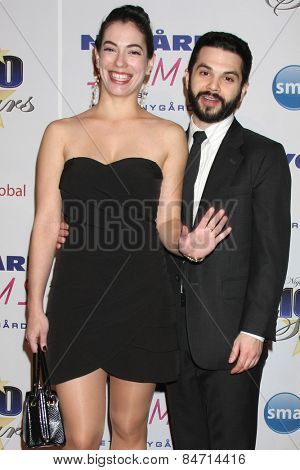LOS ANGELES - FEB 22:  Eve Fizz, Sam Levine at the Night of 100 Stars Oscar Viewing Party at the Beverly Hilton Hotel on February 22, 2015 in Beverly Hills, CA