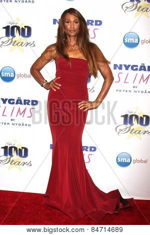 LOS ANGELES - FEB 22:  Beverly Johnson at the Night of 100 Stars Oscar Viewing Party at the Beverly Hilton Hotel on February 22, 2015 in Beverly Hills, CA