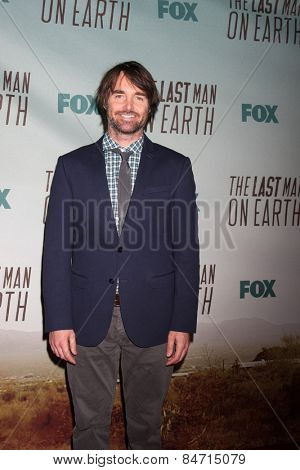 LOS ANGELES - FEB 24:  Will Forte at the