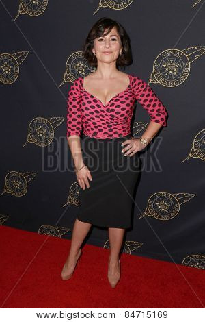 LOS ANGELES - FEB 20:  Maddalena Ischiale at the Publicist Guild Luncheon at a Beverly Hilton Hotel on February 20, 2015 in Beverly Hills, CA
