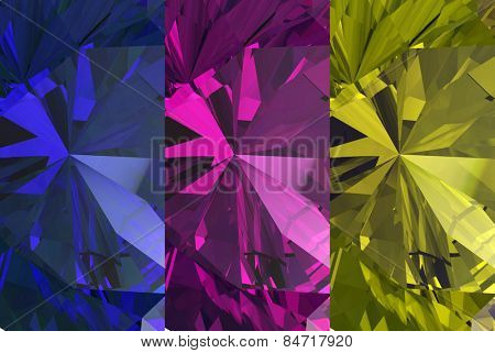 Background of jewelry gemstone