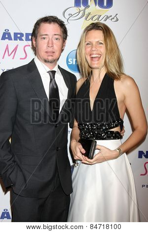 LOS ANGELES - FEB 22:  Jason London, Sofia Karstens at the Night of 100 Stars Oscar Viewing Party at the Beverly Hilton Hotel on February 22, 2015 in Beverly Hills, CA