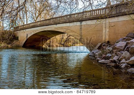 Picturesque Old Pennington Creek Bridge in Oklahoma