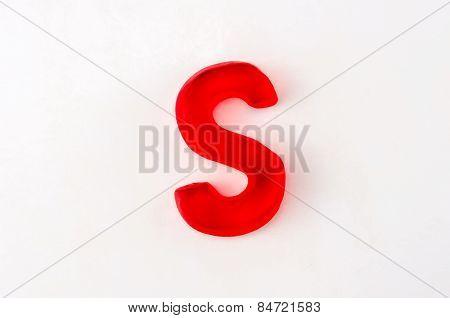 Gummy Letter S
