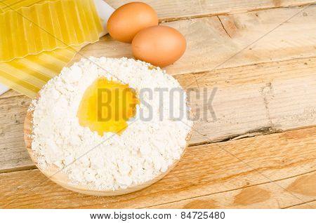 Preparing Lasagna Dough