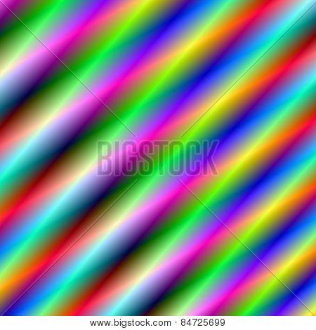 Neon diagonal tubes