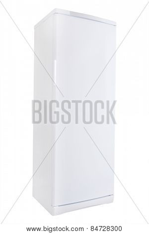The image of white refrigerator