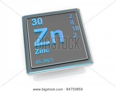 Zinc. Chemical element. 3d