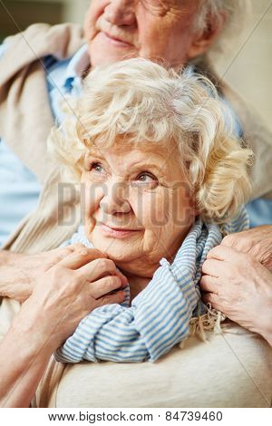 Senior woman in casualwear