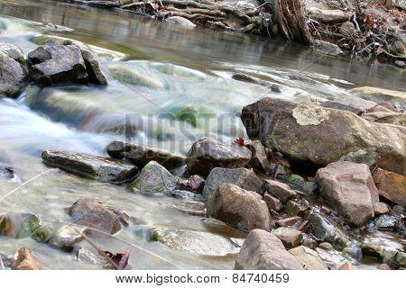 Slow Motion River Creek