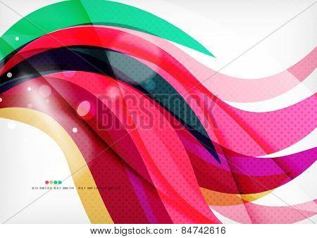 Purple rainbow swirl background, dynamic design