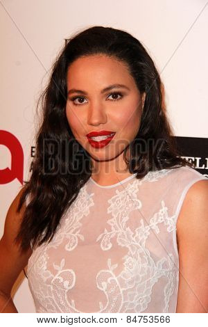 LOS ANGELES - FEB 22:  Jurnee Smollett-Bell at the Elton John Oscar Party 2015 at the City Of West Hollywood Park on February 22, 2015 in West Hollywood, CA