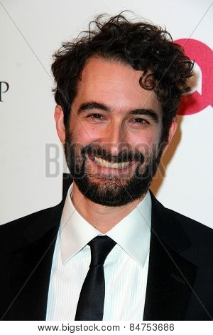 LOS ANGELES - FEB 22:  Jay Duplass at the Elton John Oscar Party 2015 at the City Of West Hollywood Park on February 22, 2015 in West Hollywood, CA